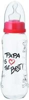 Flasche 250ml Papa is the Best