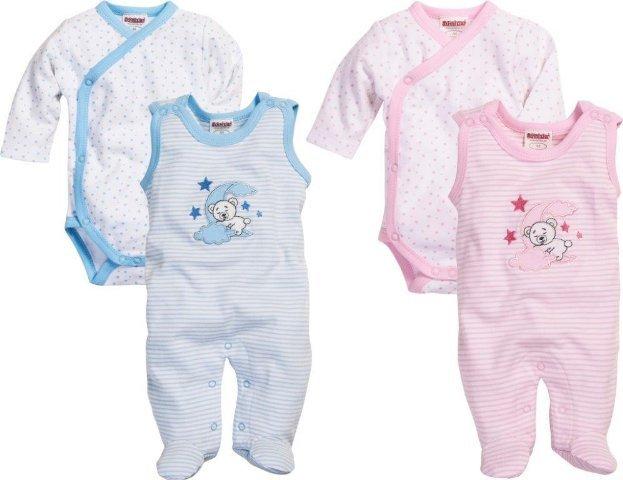6b70de83354185 Frühchen-Strampler-Set gestreift - SEEBER Der Babyfachmarkt